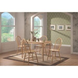 Natural Finish Dining Set