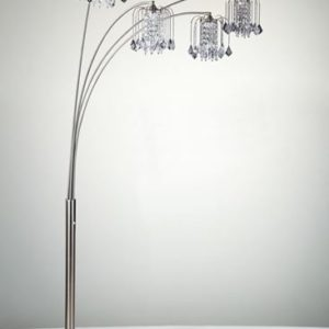 Rain Drop Arc Floor Lamp