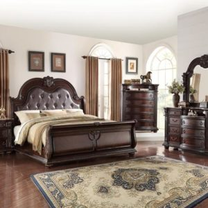 Stanley sleigh bedroom set