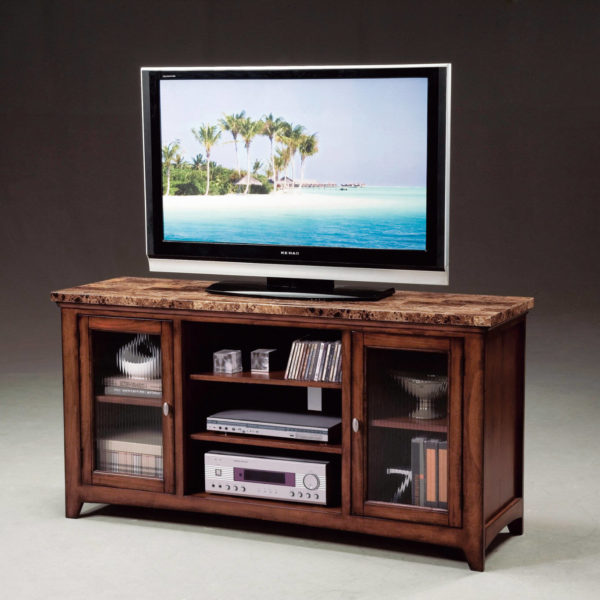 marble top entertainment console