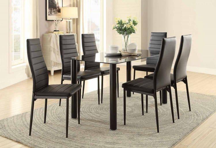 florian 7pc dining set