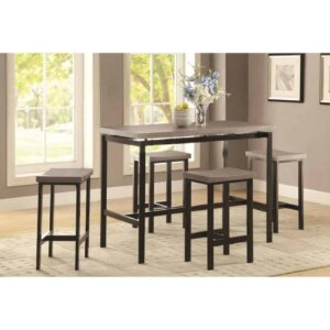 dinette counter height dining set