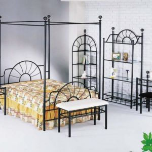 iron bedroom set
