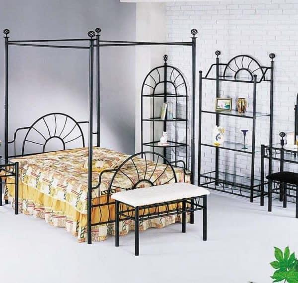 iron bedroom set