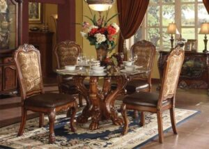 Dresden Cherry Oak Dining Set