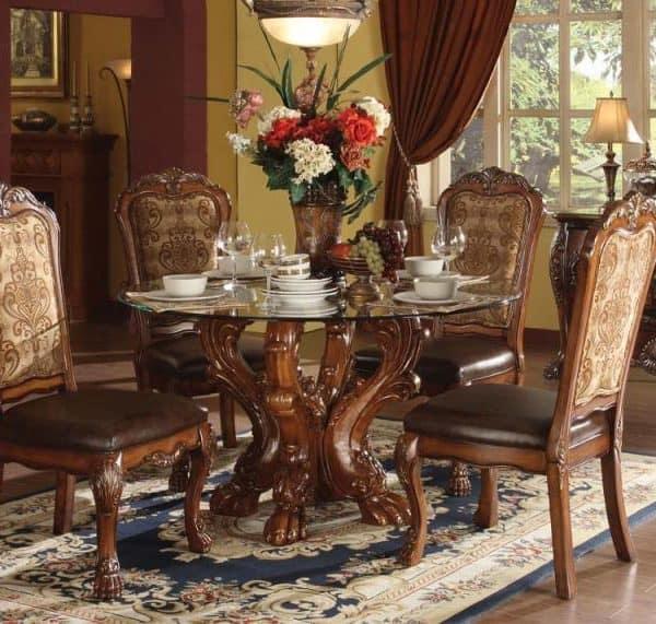 Dresden Cherry Oak Dining Set