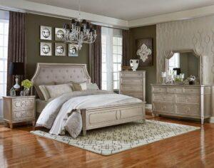 windsor silver bedroom set