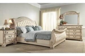 alexandra king Sleigh Bedroom Set