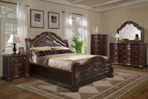 tobasco sleigh bedroom set