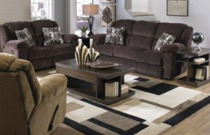 Transformer Chocolate Reclining Sofa Set