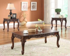 Cherry Coffee Table Set