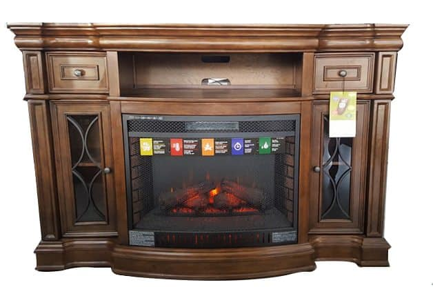 Electric Fireplaces Media Console Fireplaces