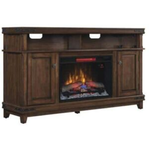 Benadretti Electric Fireplace Media Console