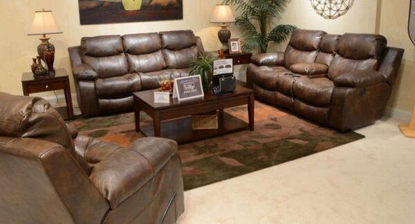 catalina reclining sofa set