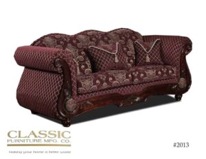 Diamonte Wine Sofa
