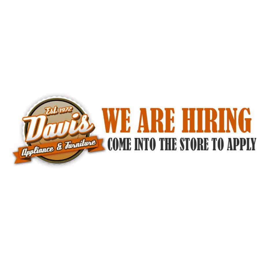 Join Our Team Davis Appliance And Furniture