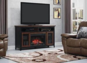 Landis Electric Fireplace Media Console