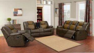 masters two tone sofa set