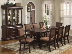 merlot dining room set