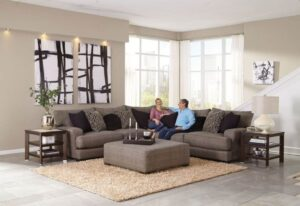 Ava sectional with Ottoman