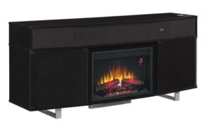 enterprise electric fireplace