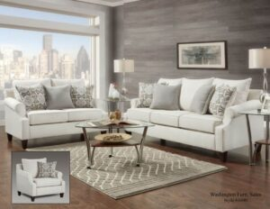 Bay Ridge Cream Sofa Set