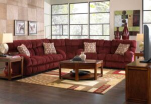 Siesta Reclining Sleeper Sectional