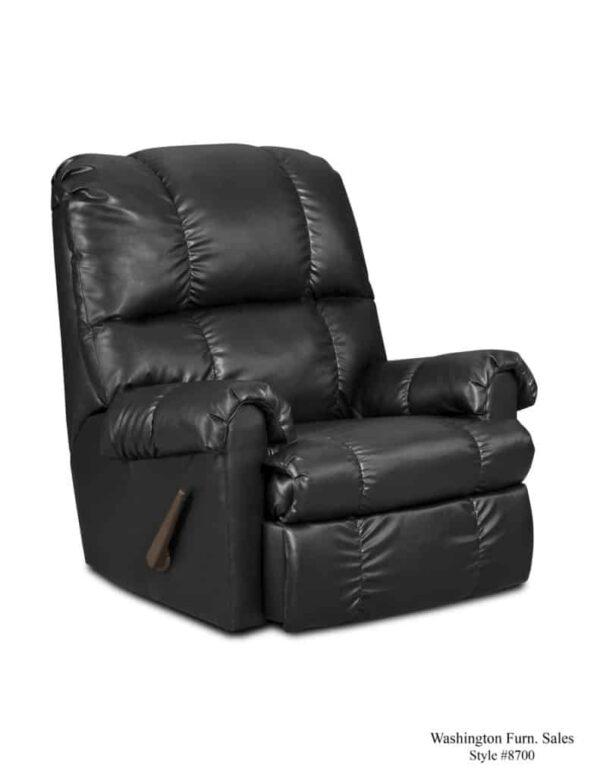Washington Furniture 8700 Recliner blk