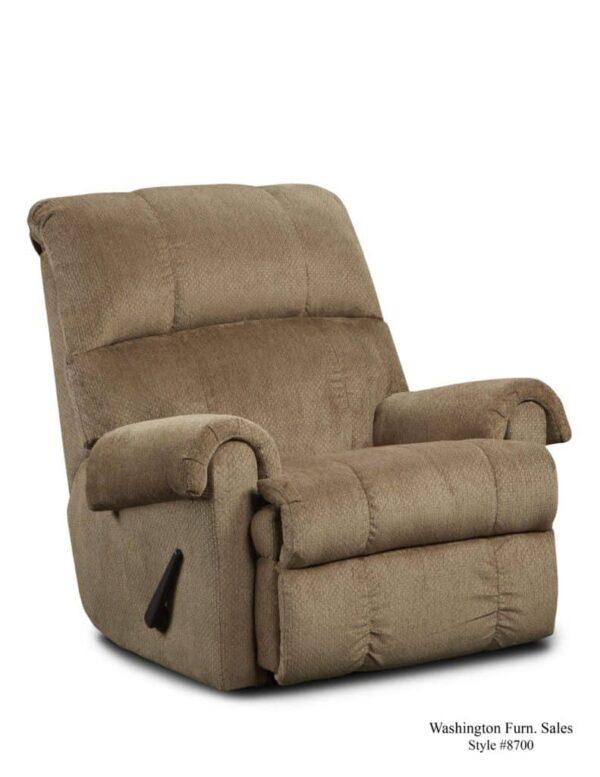 Washington Furniture 8700 Recliner bark