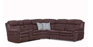 Sectional w/Power Console & Sleeper