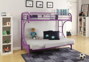 Eclipse Bunk Bed metal twin full