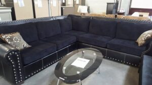 Jamco Studded Sectional