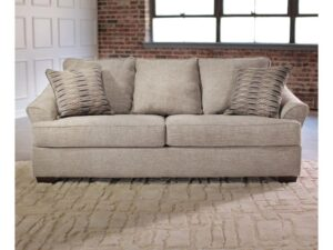 Simmons Upholstery Queen Sleeper Sofa tan