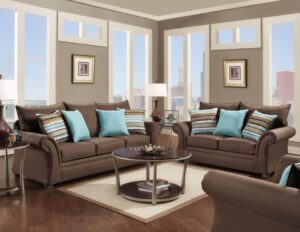Jitterbug Sofa Set in Cocoa