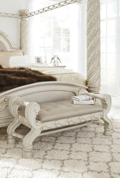 cassimore bedroom set bench