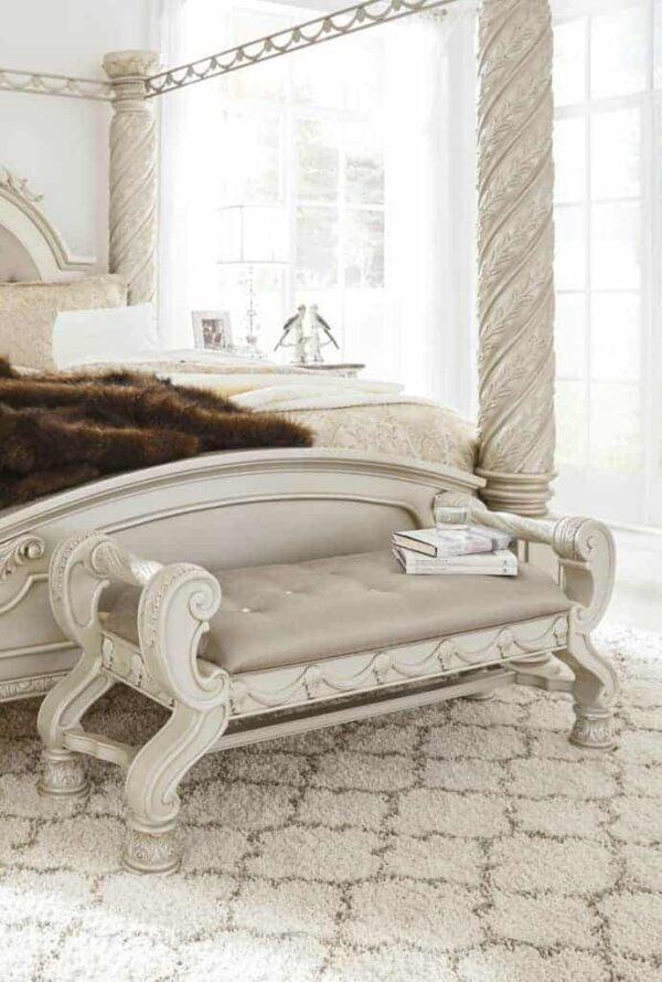 cassimore bedroom set bench