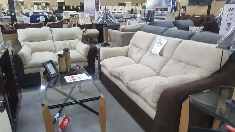 flair design sofa and loveseat
