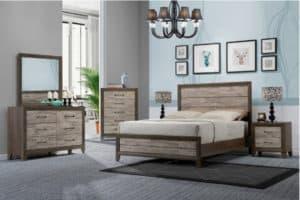 crown mark jaren bedroom set