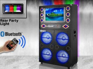 xvision speaker system bluetooth karaoke