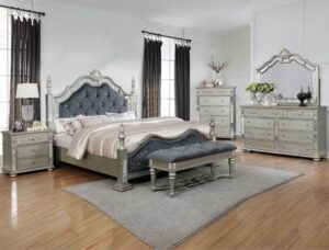 sterling bedroom set queen with bench