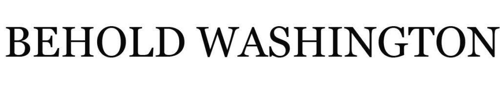 behold washington logo